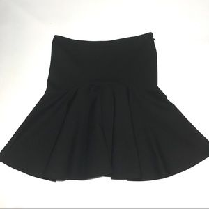 French Connection Black Trumpet Mini Skirt 4